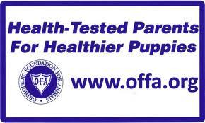 OFA HEALTH TESTING LOGO